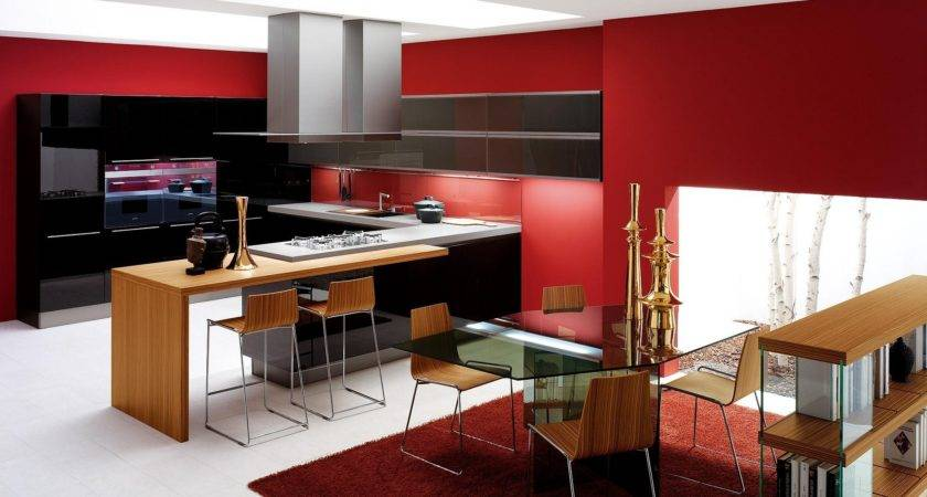 Kitchen Red Design