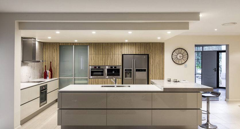Kitchen Renovation Brisbane Caesarstone Benchtops
