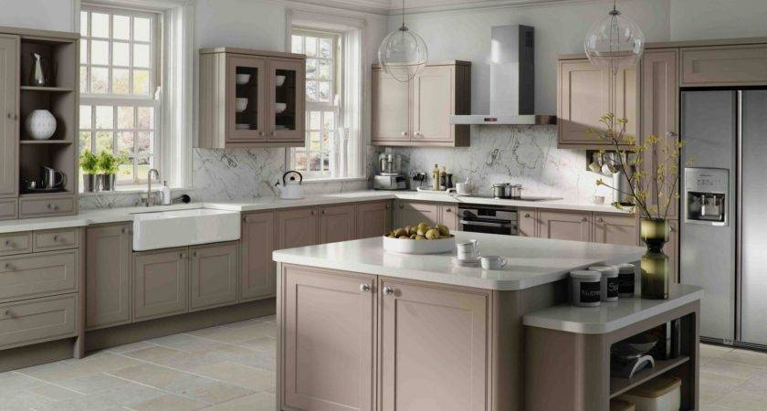 Kitchen Simple Gray Cabinets Nice Drawers