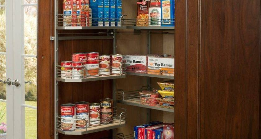 Kitchen Storage Ideas Pantry Spice Accessories