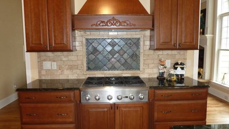 Kitchen Tile Designs Behind Stove Peenmedia