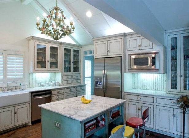 Kitchen Trends Shabby Chic Cabinets