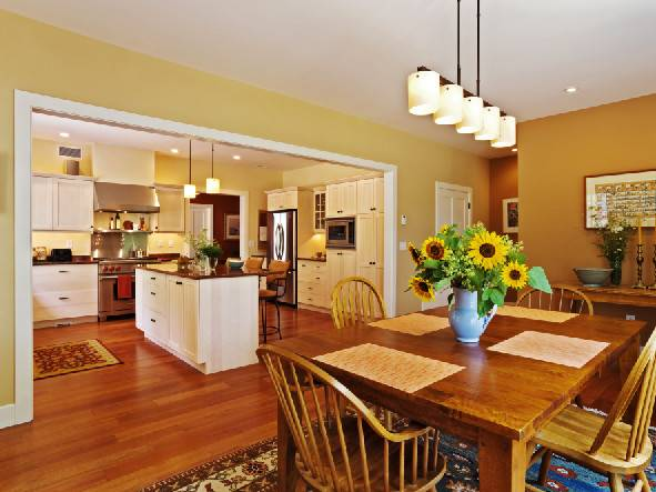 Kitchens Open Dining Room Design Interiors