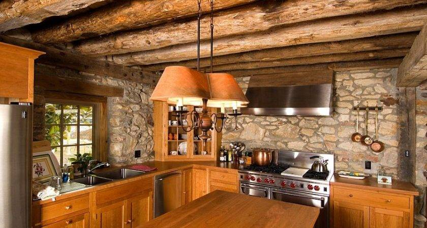 Kitchens Stone Walls Home Design