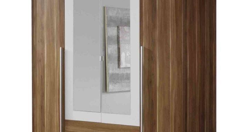 Krefeld Double Mirrored Wardrobe Chestnut Carcass Next