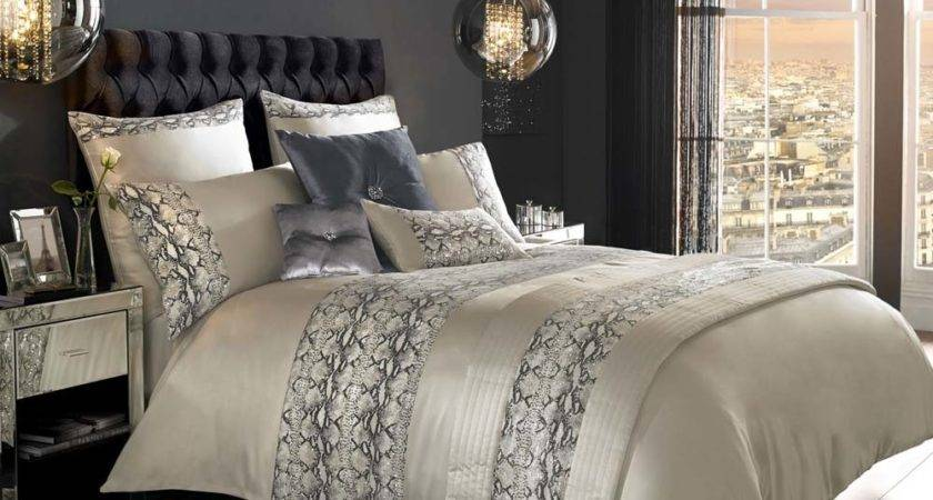 Kylie Minogue Bedding Adira Cream Animal Print Bed Linen