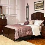 Kylie Queen Platform Bedroom Set Merlot Raymour