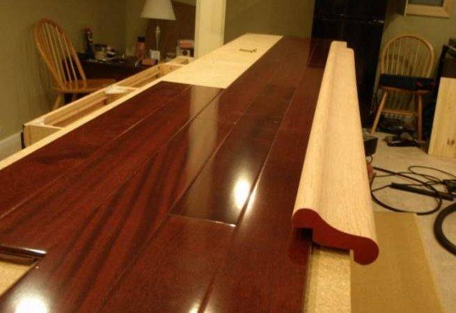 Laminate Floor Bar Top Awesome Basement Ideas
