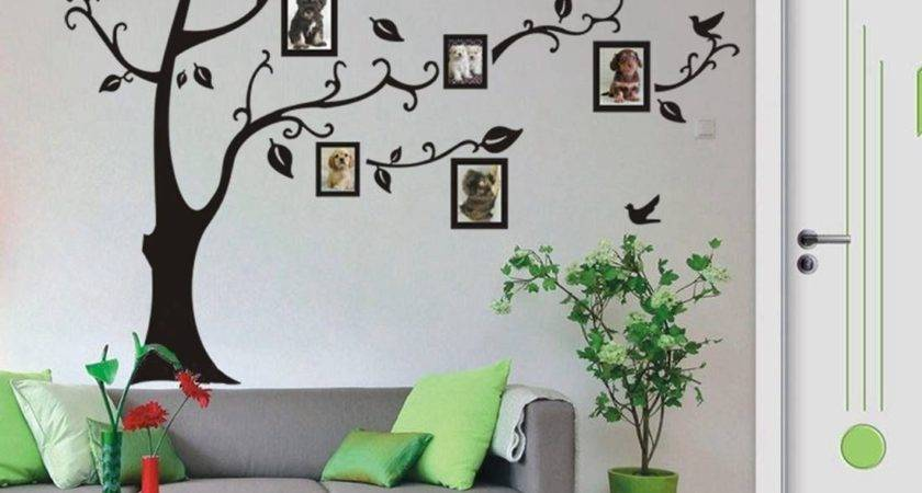 Large Frame Tree Removable Wall