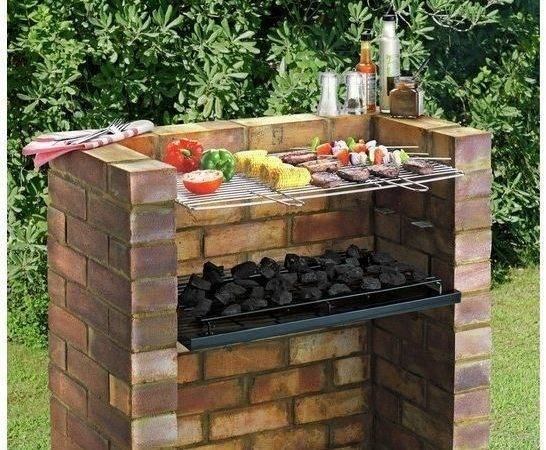 Large Outdoor Brick Charcoal Bbq Smoker Similar Items
