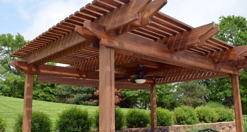 Large Pergola Design Ideas Home