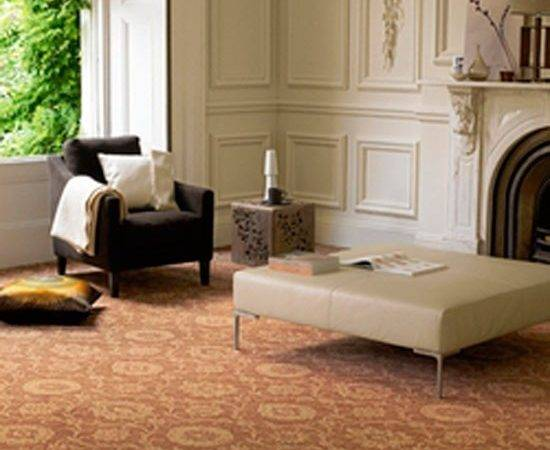 Large Prints Patterned Carpets Flooring