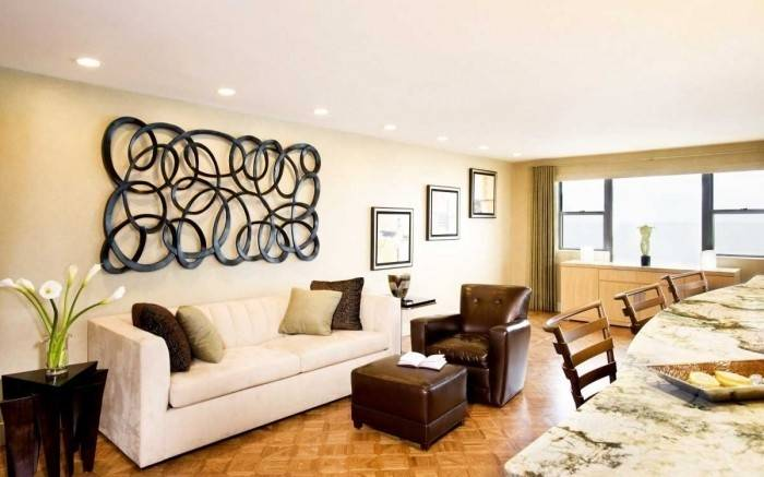 Large Wall Decor Ideas Living Room Best