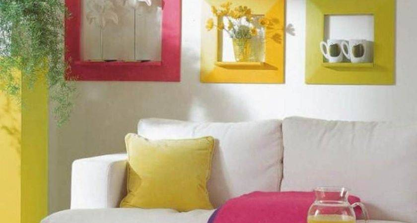 Latest Colour Combination Summer Living Room