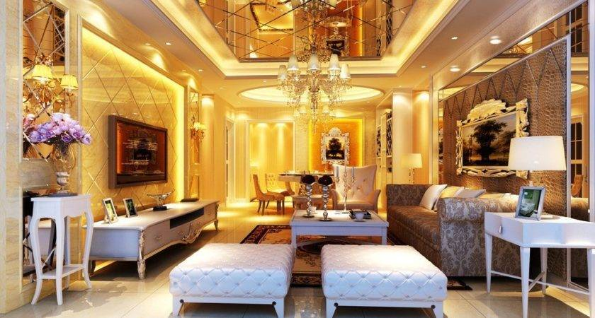 Latest Design Drawing Room Luxurious House