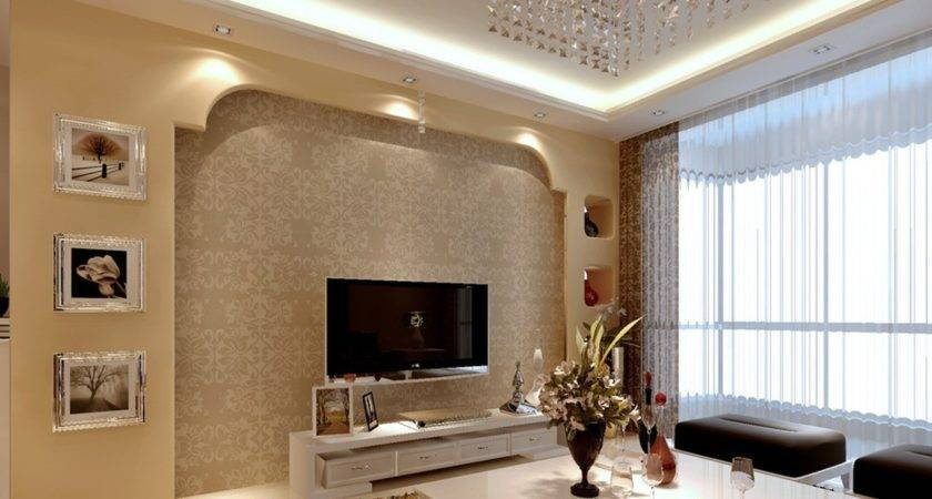 Latest Wall Design Living Room
