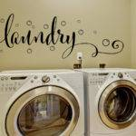 Laundry Room Decor Wall Decal Bubbles