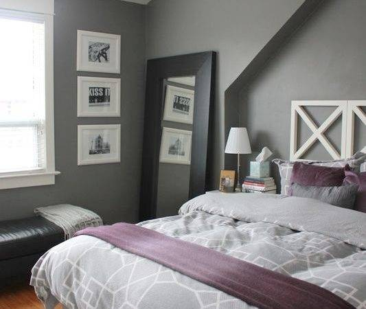 Lavender Gray Bedroom Home Design Inspiration