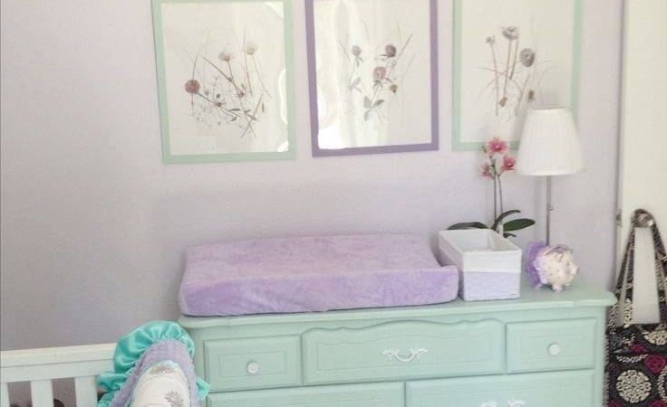 Lavender Turquoise Bedroom Home Design
