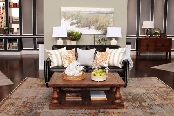 Leather Couch Decorating Ideas Get Furnitures Home