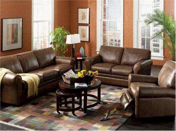 Leather Living Room Furniture
