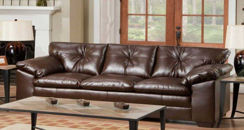 Leather Living Room Sofas Simple Designs
