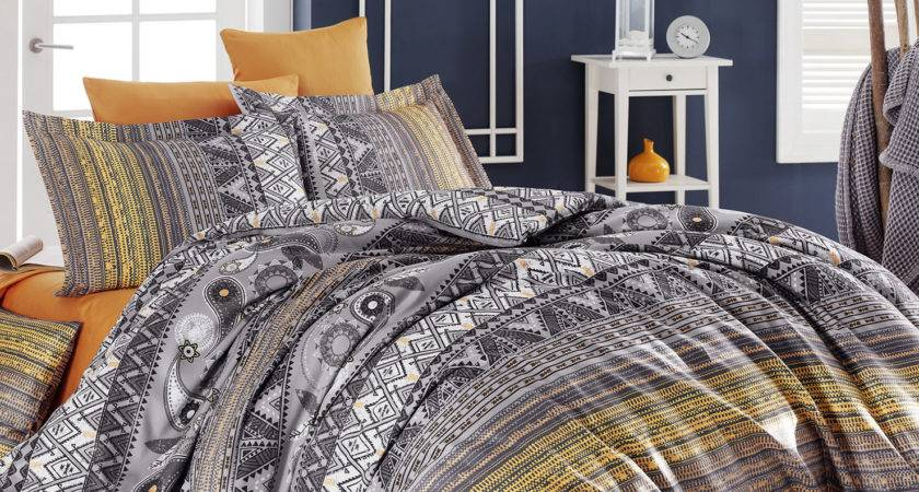Lenore Double Duvet Cover Set Multi Coloured Achica