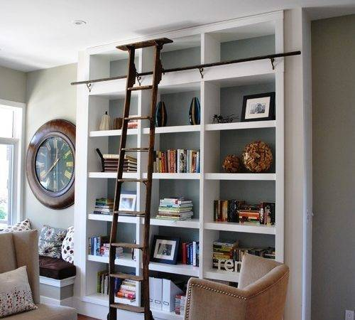 Library Bookcases Ladders
