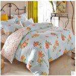 Ligh Blue Floral Country Romantic Teen Bedding