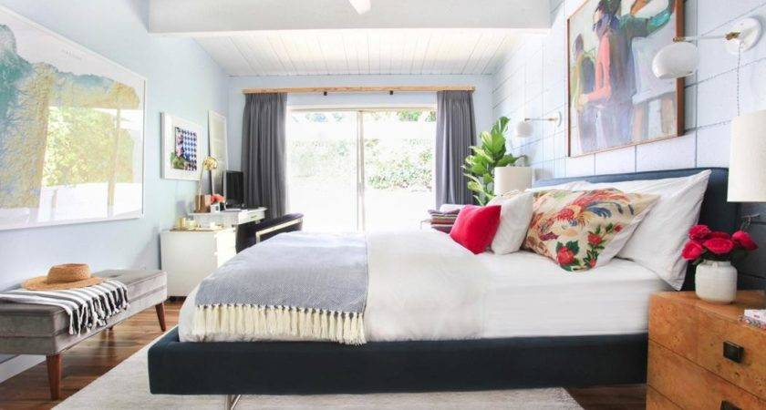 Light Airy Bedroom Makeover Emily Henderson Decoist