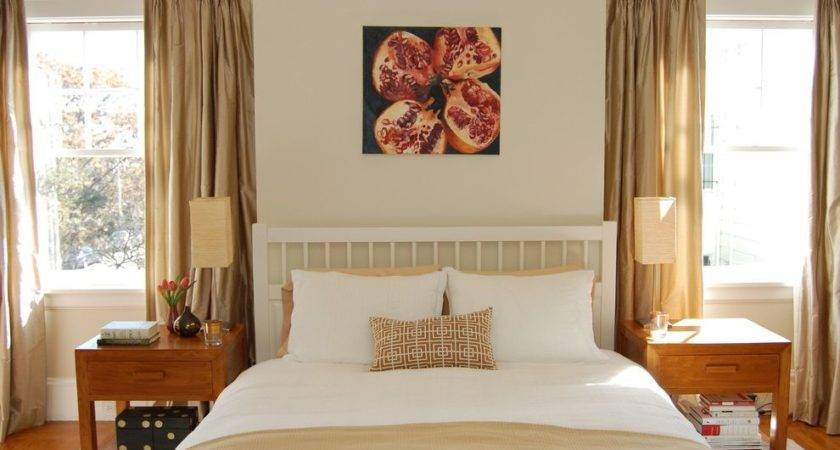 Light Beige Wall Color Bedroom Traditional