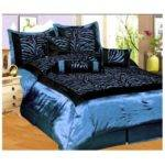 Light Blue Black Bedding Bedroom Ideas