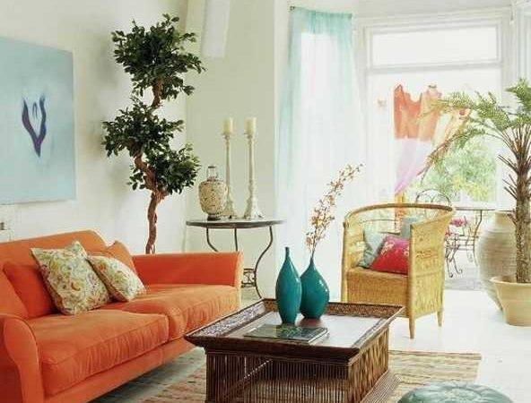 Light Blue Green Colors Soothing Modern Interior