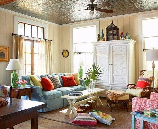 Light Bright Living Spaces Cozy Little House