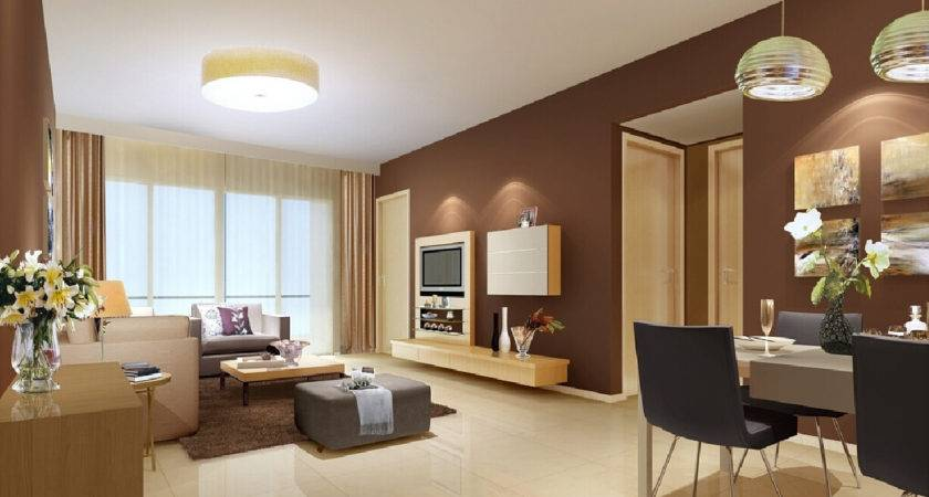 Light Brown Living Room Walls Modern House