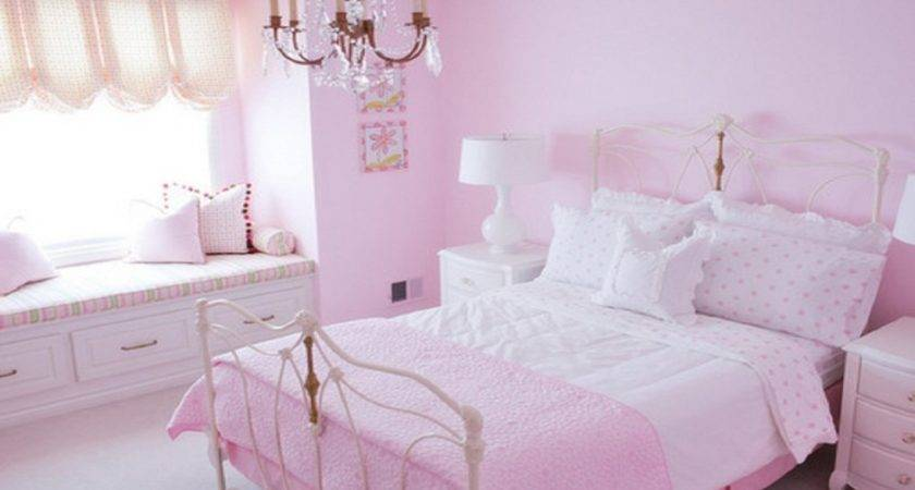 Light Colour Bedroom Blush Pink Color Wall