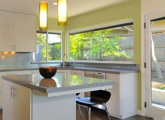 Light Green Kitchen Interior Paint Colors