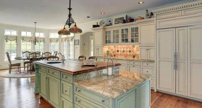 Light Green Kitchen Island Farmhouse Ideas