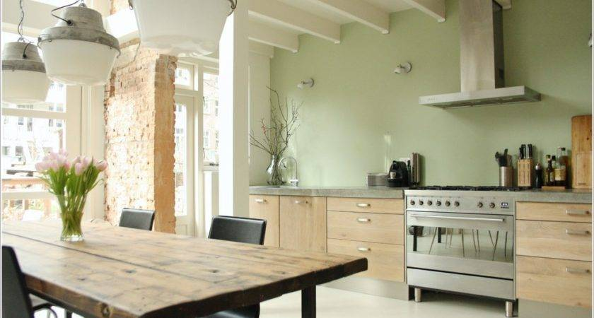 Light Green Kitchen Pastel Cabinets Quicua