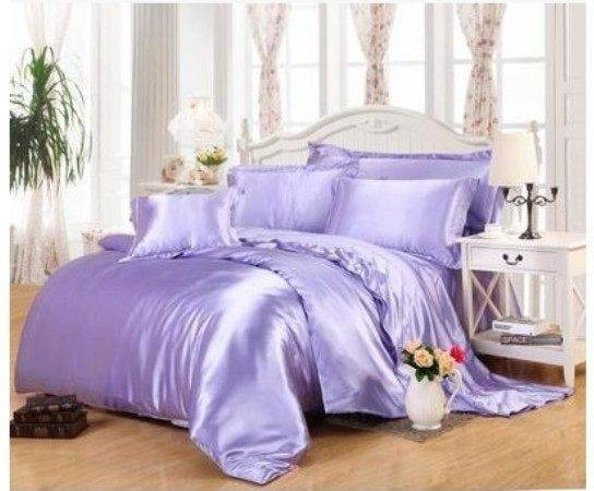 Light Purple Lilac Bedding Sets California King Queen