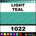 Light Teal Marker Fabric Textile Paints