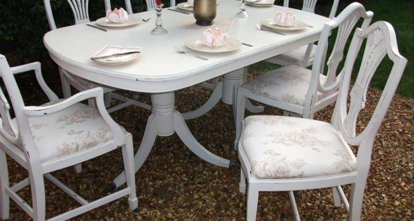 Likable Shabby Chic Dining Room Furniture Sale