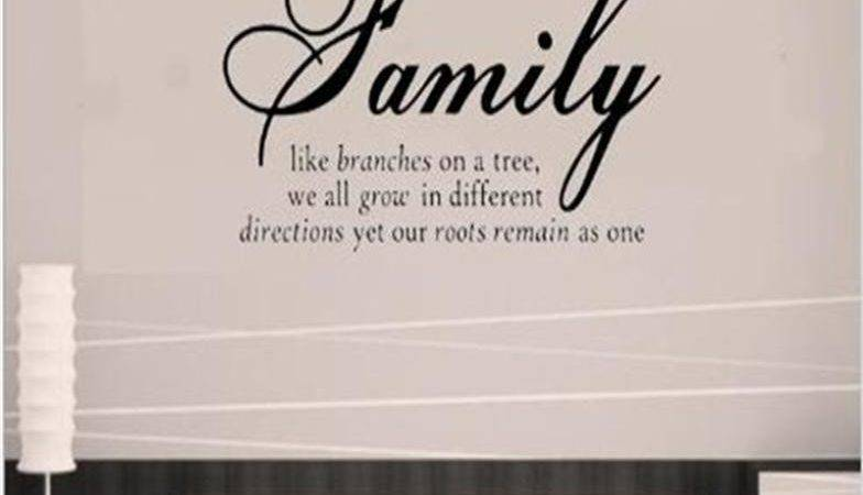 Like Branches Home Decor Creative Quote Wall Decals
