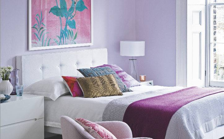 Lilac Bedroom Color Confidence Pinterest