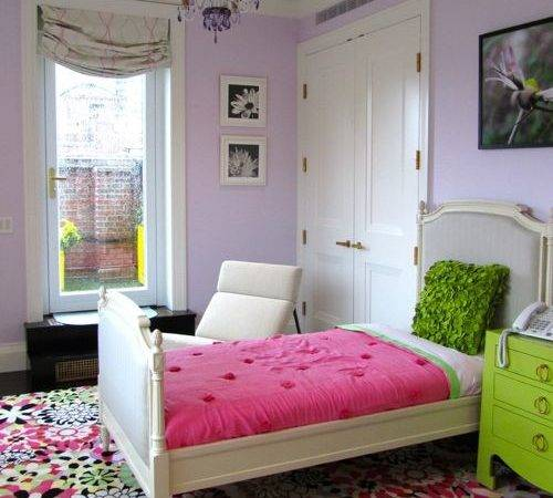 Lilac Bedroom Home Design Ideas Remodel Decor