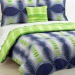 Lime Green Blue Bedding Decorate House