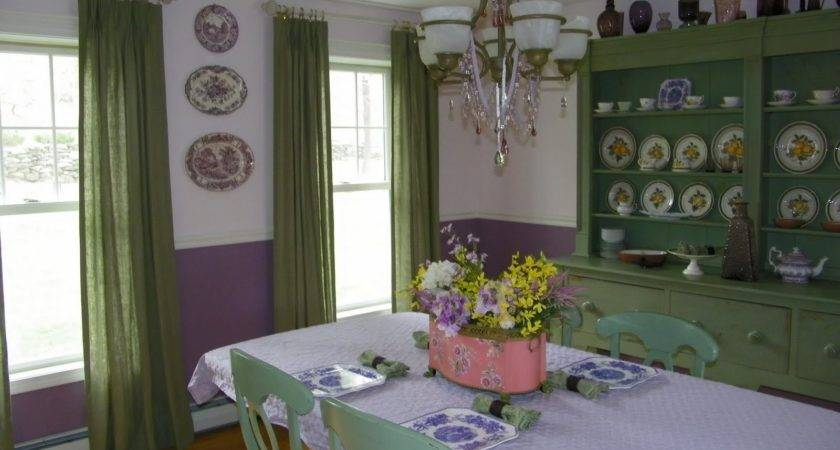 Lime Green Purple Bedroom Designed Curtains