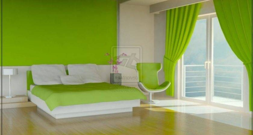 Lime Green Room Photography