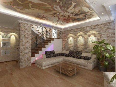 Literally Stunning Stone Wall Interior Decorations