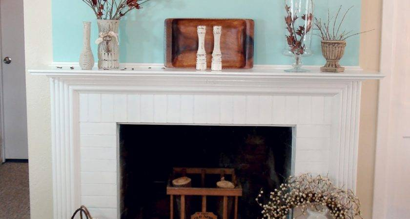 Little Bit Fall Mantel Fox Hollow Cottage